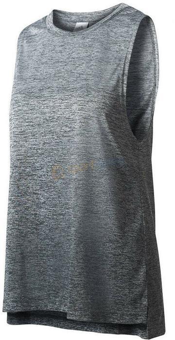 Adidas Koszulka treningowa damska Boxtank Mel szara) 12h BK2631
