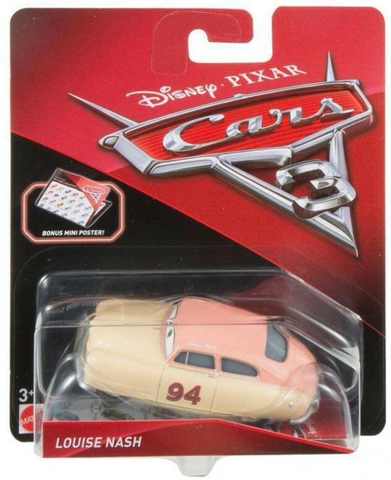 Mattel Auta 3 Cars Louise Nash Alina Lina DXV38 DXV38 DXV29