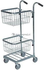 Kongamek Mały Wózek z dwoma koszykami. Wym: 660x385x1090mm