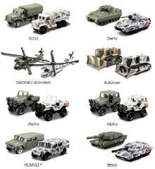 Maisto Pojazdy wojskowe Forces 3 różne rodzaje