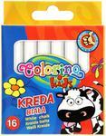 COLORINO Kreda biała Kids Colorino 16szt. w opak. PA2834