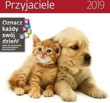 Kalendarz 2019 Przyjaciele 30X30 Z Naklejkami