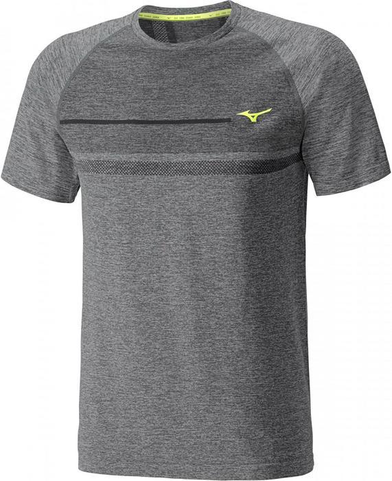 f69d992f0c5a5 Mizuno koszulka sportowa męska Tubular Helix Tee black/safety yellow S –  ceny, dane techniczne, opinie na SKAPIEC.pl