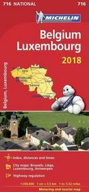 Belgia, Luxemburg. Atlas samochodowy 1:350 000