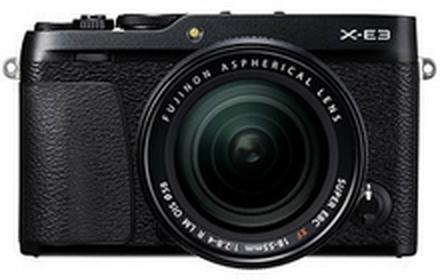 FujiX-E3 + XF 18-55 R LM OIS srebrny
