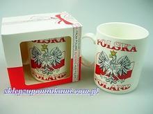 Kubek Polska Orzeł pamiątka gift 0719