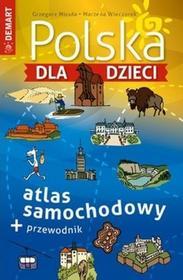Demart Polska dla dzieci atlas samochodowy - Demart