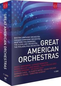 Great American Orchestras DVD) Norman Carol Elisabete Matos Itzhak Perlman Kenneth Riegel Christine Schäfer Leonard Bernstein Pierre Boulez