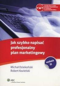 Wolters Kluwer Jak szybko napisać profesjonalny plan marketingowy
