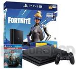 Sony PlayStation 4 Pro 1TB Czarny Fortnite Neo Versa Bundle + God of War