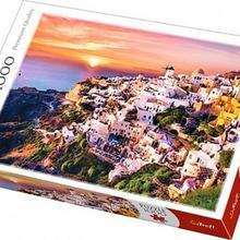Trefl 1000 ELEMENTÓW Zachód słońca nad Santorini 10435