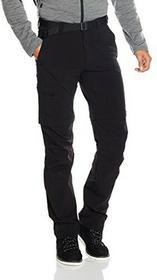 Maier Sports spodnie trekkingowe z odpinanymi nogawkami Tajo 2, czarny, 48 133004_900_48