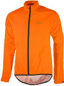 Rogelli TELLICO kurtka rowerowa przeciwdeszczowa fluor pomarańczowy