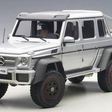Autoart Mercedes-Benz G6 3 AMG 6X6 silver