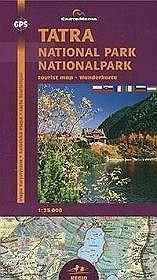 Tatra National Park  1:25 000 - CartoMedia