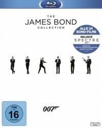 20th Century Fox Bond Collection 2016, 25 Blu-ray