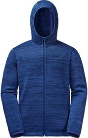 Jack Wolfskin Kurtka AQUILA HOODED JACKET MEN royal blue