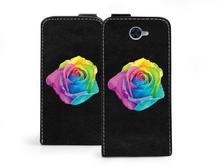 Etuo.pl etuo Flip Fantastic - Huawei Y7 - etui na telefon Flip Fantastic - kolorowa róża ETHW558FLFCFF018000