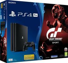 Sony PlayStation 4 Pro 1TB Czarny +  Gran Turismo Sport + To Jesteś Ty Voucher