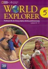 Nowa Era Język angielski World Explorer SP kl. 5 podręcznik / podręcznik dotacyjny  - Praca zbiorowa
