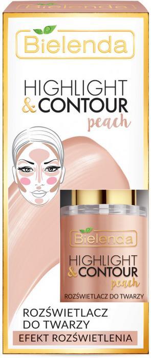 BIELENDA Bielenda Highlight&Contour Rozświetlacz do twarzy Peach BIEL-4635