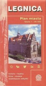 PPWK Legnica. Plan miasta w skali 1:15 000 praca zbiorowa