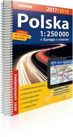 ExpressMap praca zbiorowa Polska atlas samochodowy 1:250 000