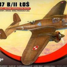 Mirage Hobby PZL.37 BII Łoś samoloty Bombowy 481310