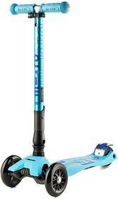 Micro Hulajnoga Maxi deluxe blue błyszczący składana MMD027 447