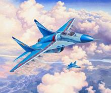 Revell Myśliwiec frontowy MiG-29S Fulcrum 03936