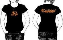 Raggafaya R czarna koszulka damska