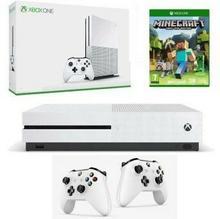 Microsoft Xbox One S 500GB Biały + Minecraft + 2xDualShock
