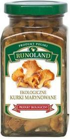 RUNOLAND grzyby zupy przetwory) KURKI MARYNOWANE BIO 300 g