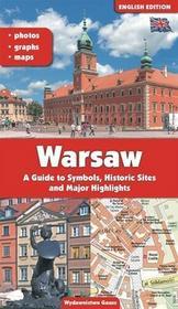 GAUSS Adam Dylewski Warszawa. Przewodnik po symbolach, zabytkach i atrakcjach. Wersja angielska