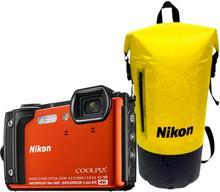 Nikon COOLPIX W300 pomarańczowy Holiday Kit