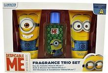 MINIONS Minions GiftEau de Toilette 75ML, żel pod prysznic, szampon i 2in1, 1er Pack (1X 1sztuki) MIN2985