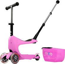 Micro Mini2go Deluxe Plus Jeździk-Hulajnoga różowy