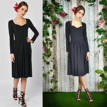 Czarny bez - sukienka