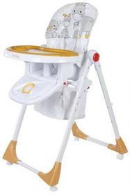 Sun Baby Krzesełko do karmienia Comfort Lux pomarańczowe B03.004.1.7