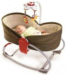 Tiny Love Leżaczek 3w1 Rocker Napper - Cappuccino 16764555