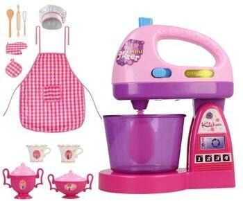Elektrostator 2w1 Zestaw Kuchnia Dla Dzieci Agd Mikser Elektryczny