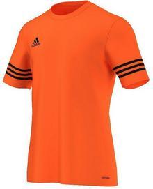 Adidas KOSZULKA ENTRADA 14 JR pomarańczowa F50488