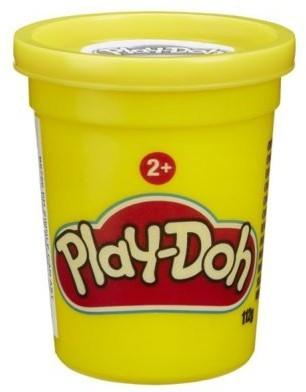 Hasbro Play-Doh Tuba pojedyńcza, żółta B3461