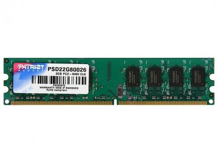 Patriot 2 GB PSD22G80026 DDR2