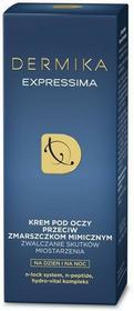 Dermika Expressima, krem pod oczy przeciw zmarszczkom mimicznym, 15 ml