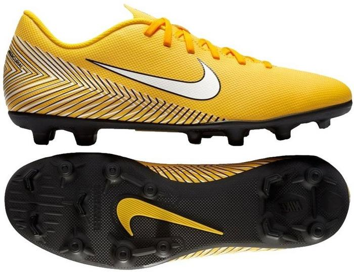 official photos 3be20 6888a ... Nike Mercurial Vapor 12 Club Neymar MG AO3129 710 żółty - Ceny i opinie  na Skapiec ...