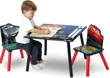 Delta Disney Cars Auta 3 Drewniany Stolik i 2 krzesełka dla dzieci TT89581CR