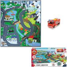 Dickie Toys Strażak Sam Mata do zabawy Pogotowie górskie i autko Jupiter 203096004