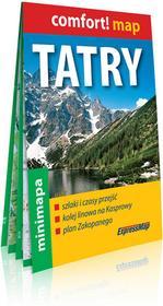 ExpressMap Comfort! map. Tatry. Mapa turystyczna w skali 1:80 000 praca zbiorowa