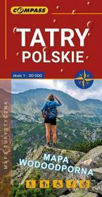 Tatry Polskie mapa foliowana / wysyłka w 24h